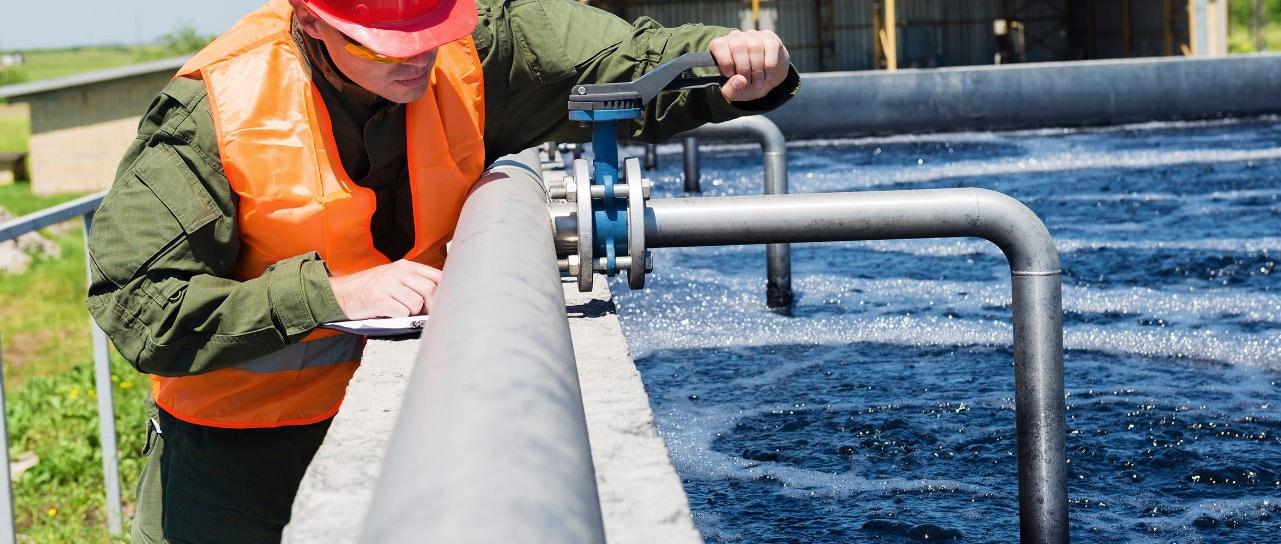 Процесс очистки сточных вод